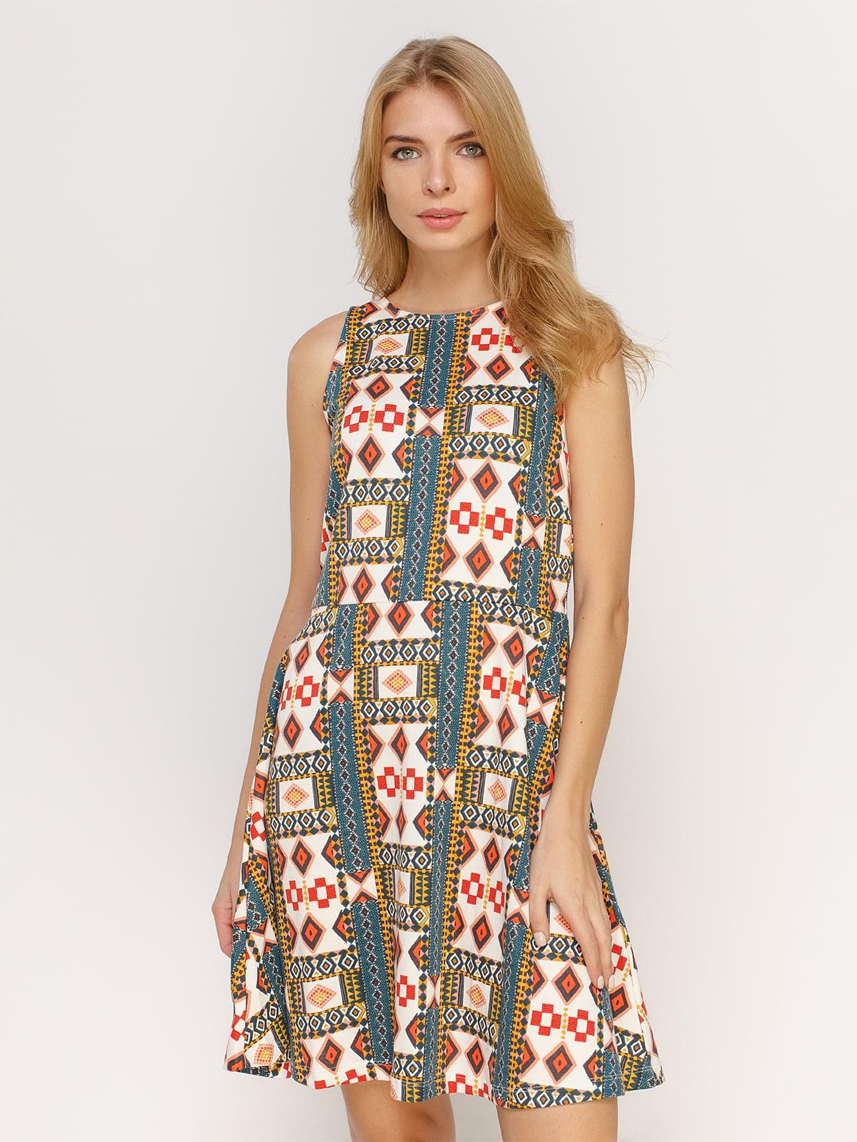Сукня абстрактного забарвлення   4614521