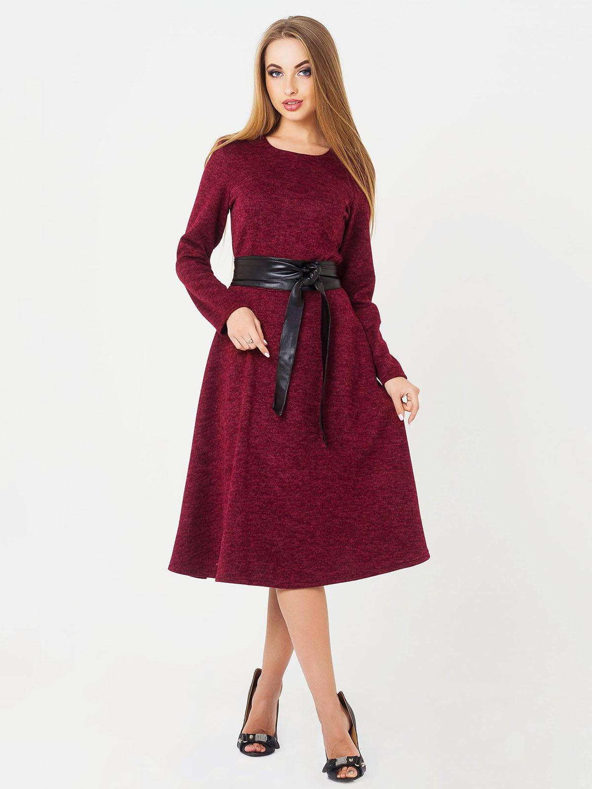 Сукня бордова | 4654453