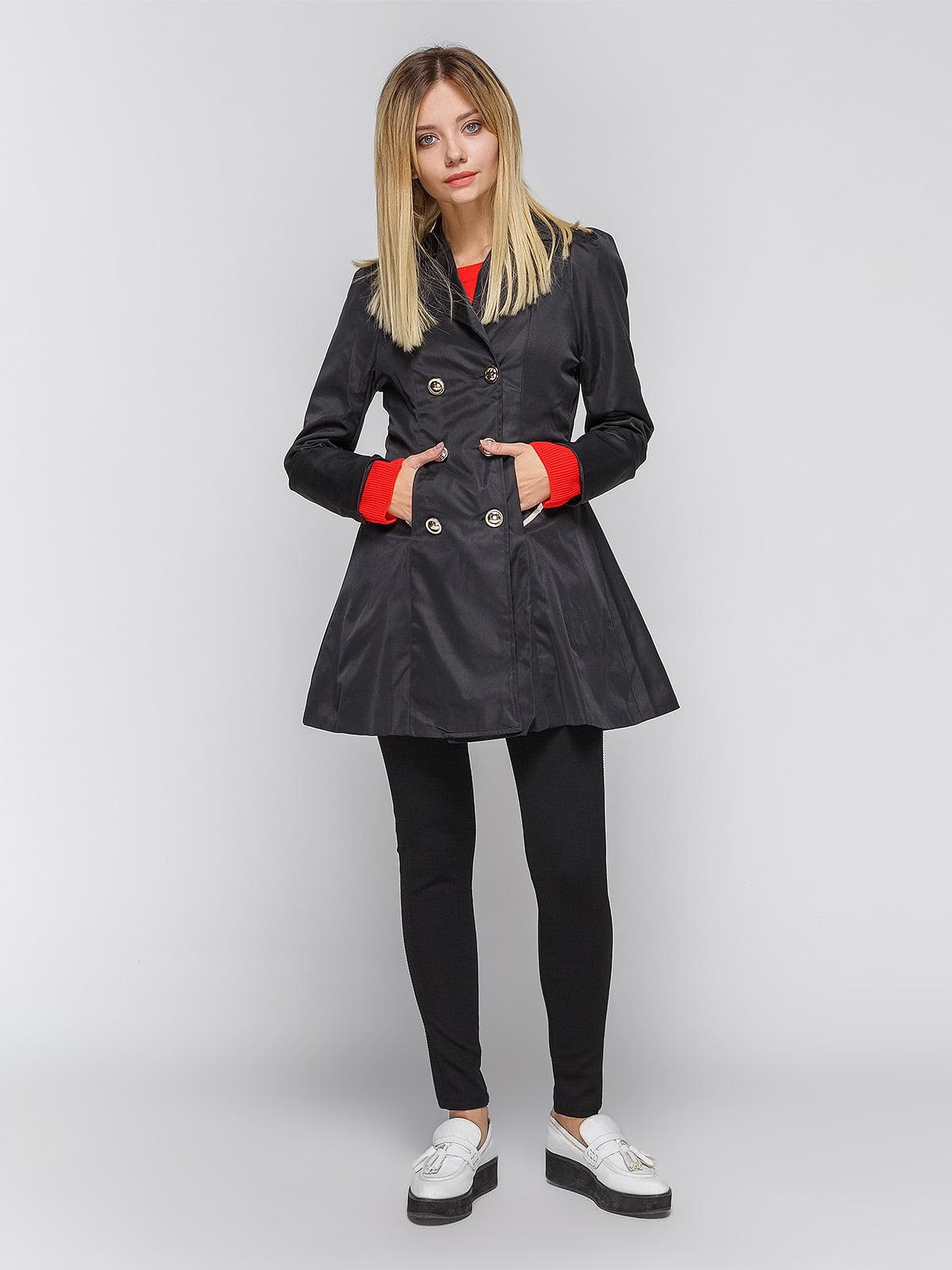 Пальто черное | 3612011 | фото 2