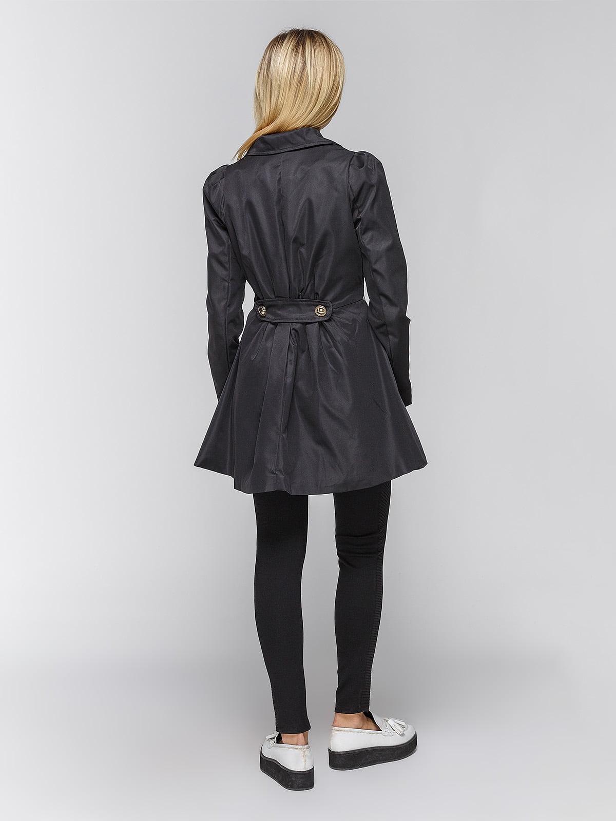 Пальто черное | 3612011 | фото 3