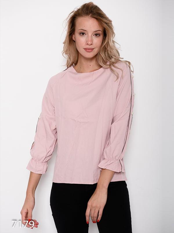 Блуза розовая | 4641169