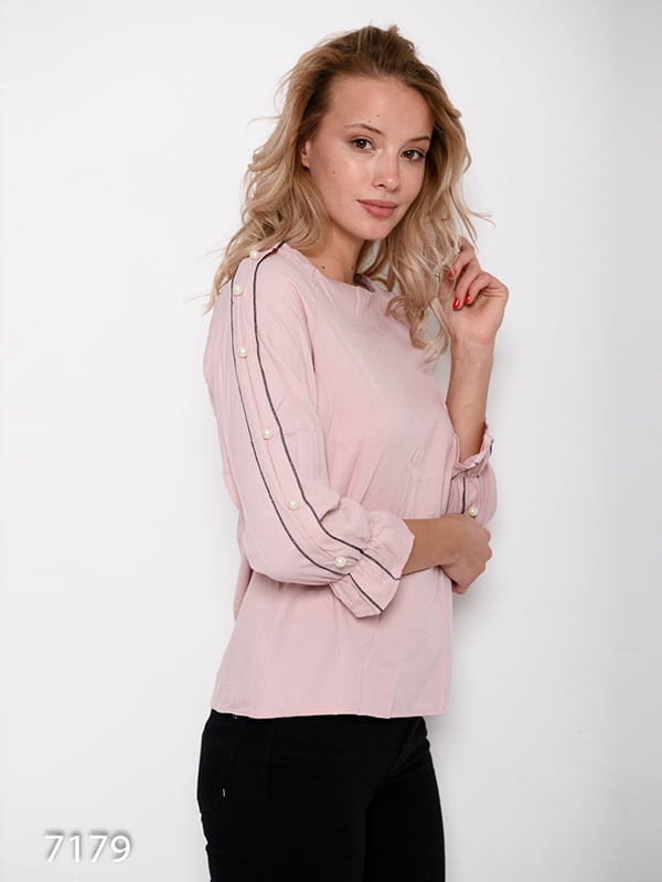 Блуза розовая | 4641169 | фото 2