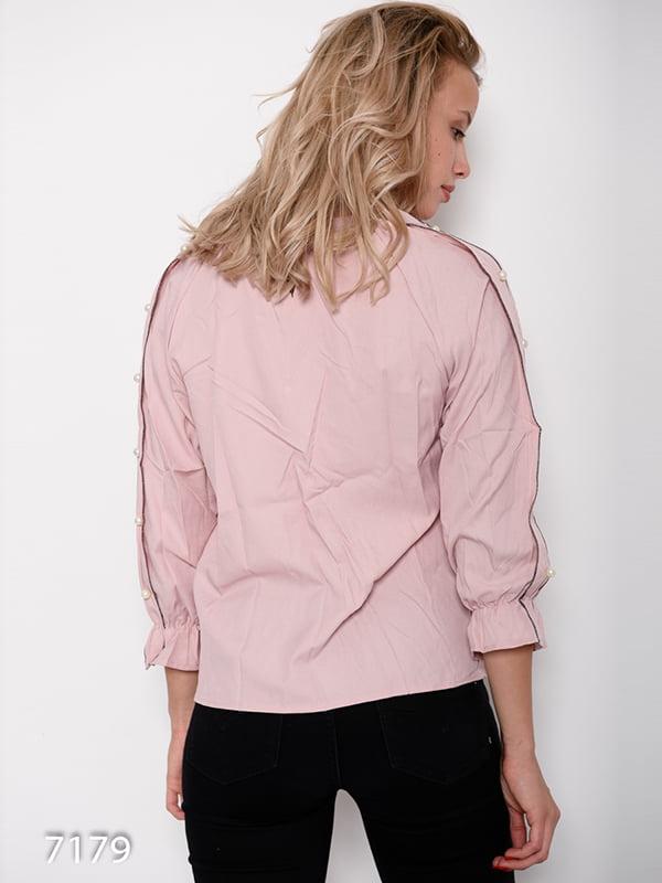 Блуза розовая | 4641169 | фото 3