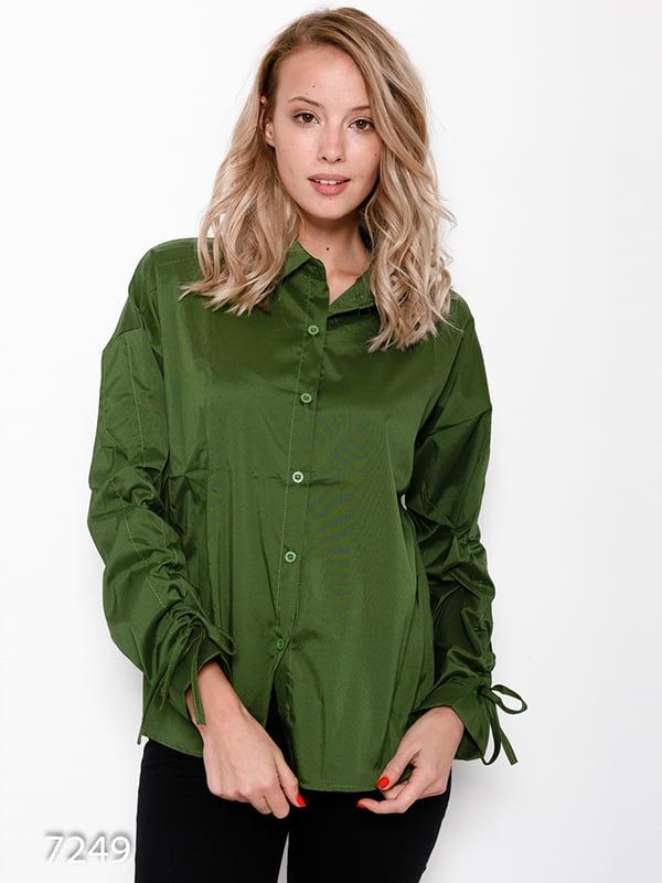 Сорочка зелена | 4641182