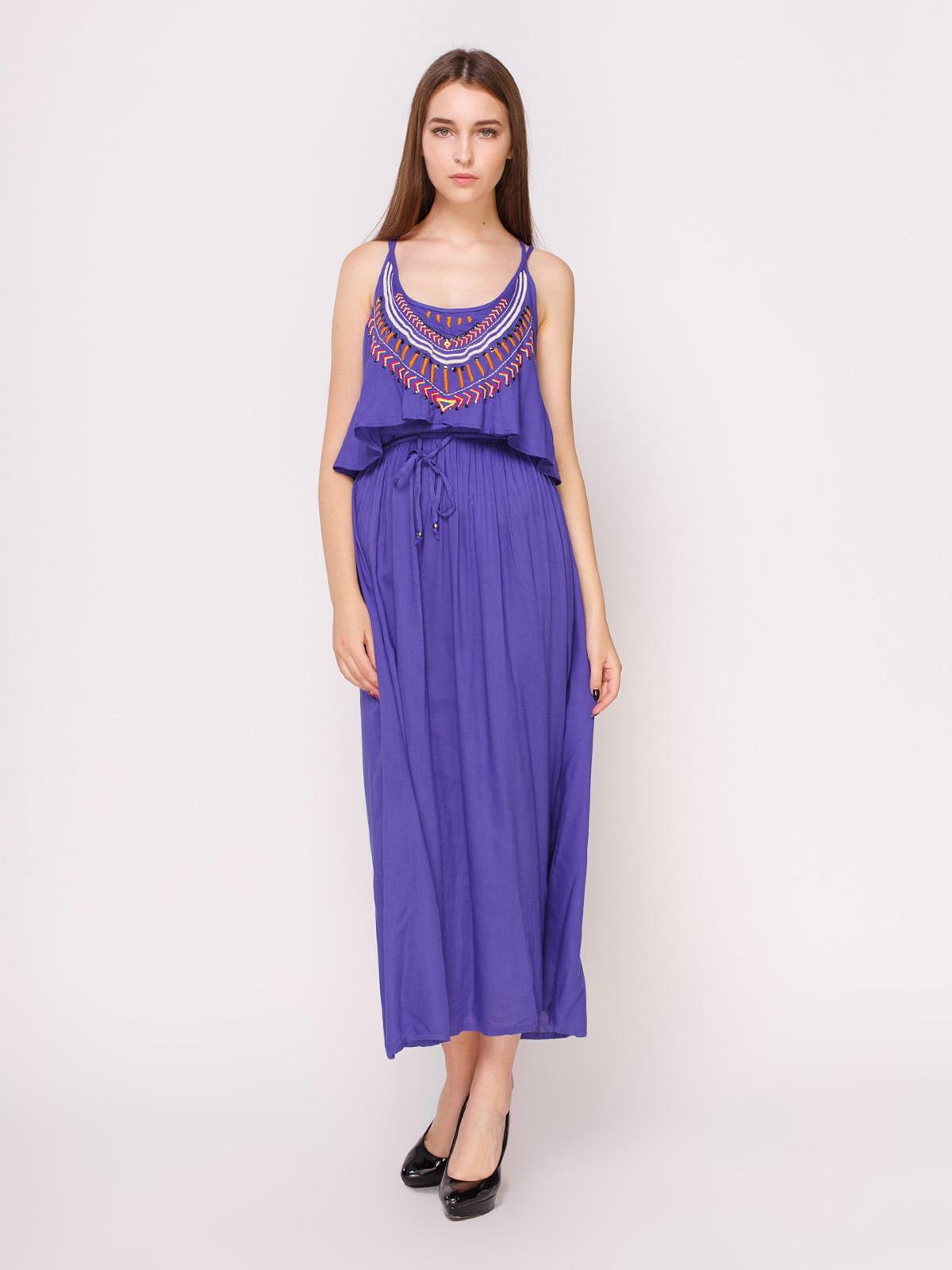 Сукня фіолетова | 4620532