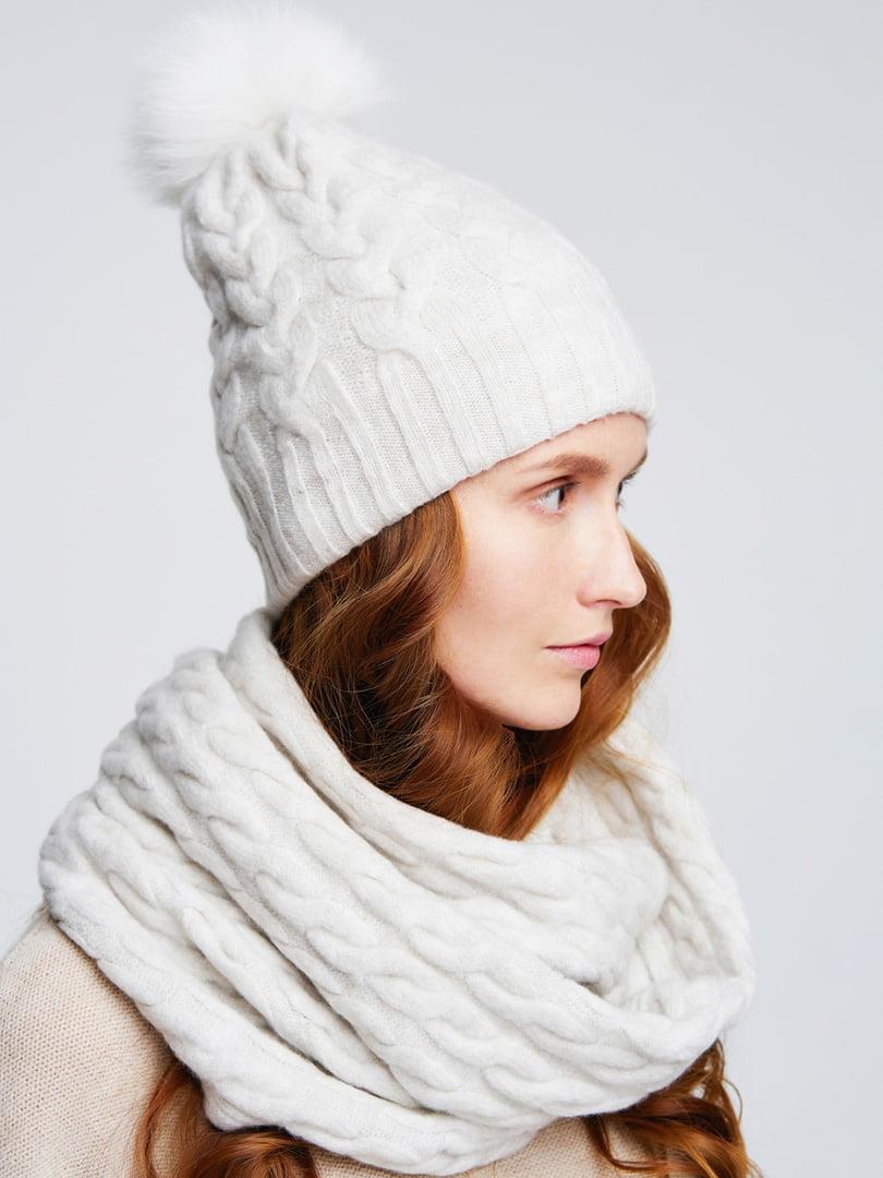 Комплект: шапка и снуд | 4657903 | фото 2