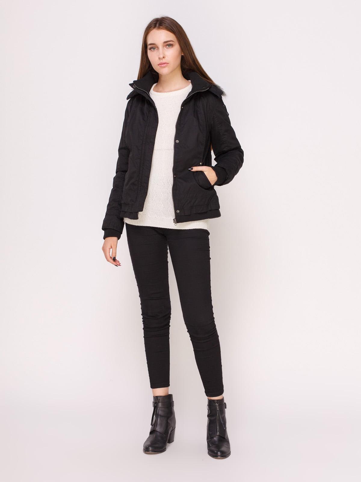 Куртка черная | 4618976 | фото 2