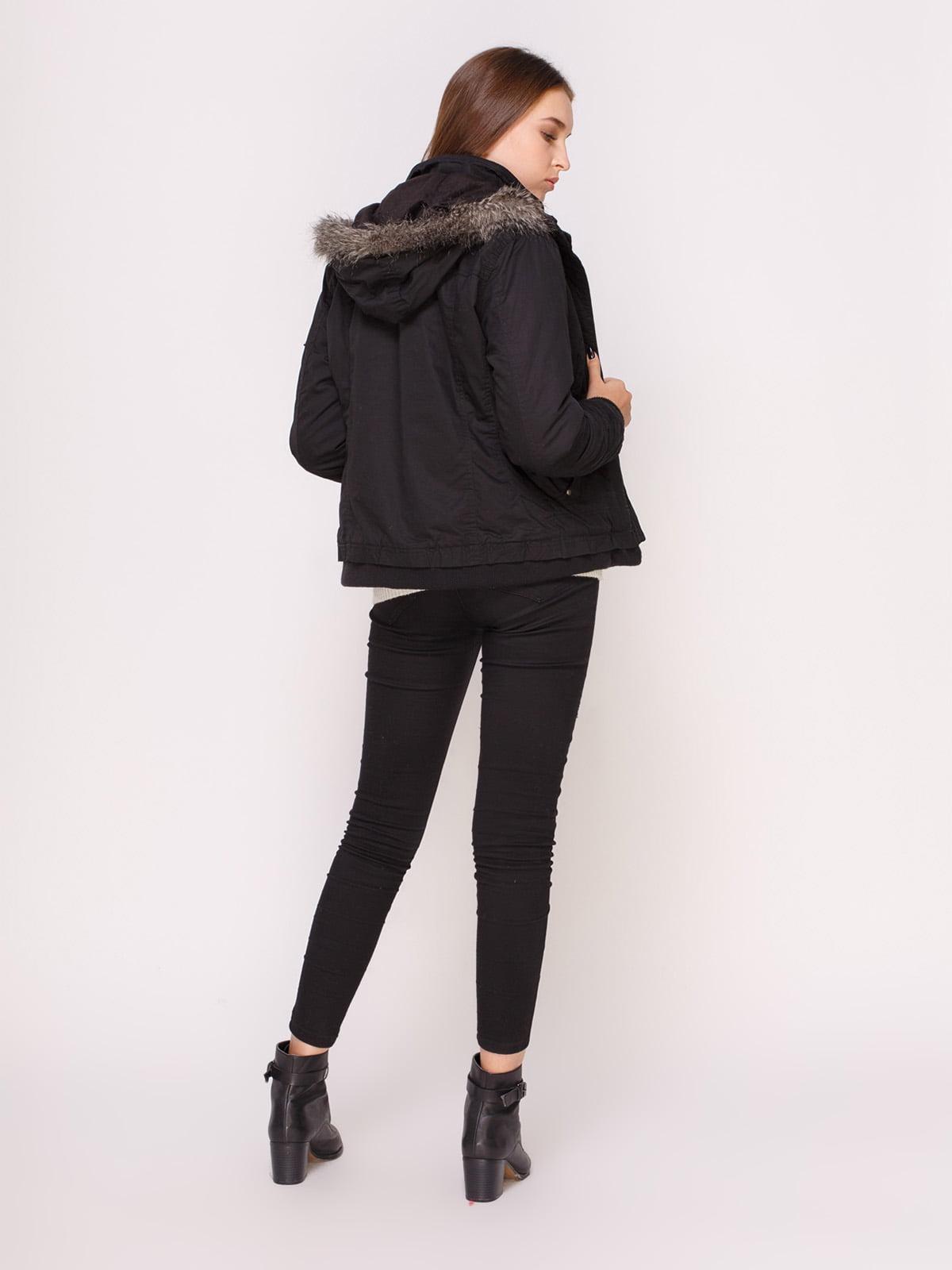 Куртка черная | 4618976 | фото 3