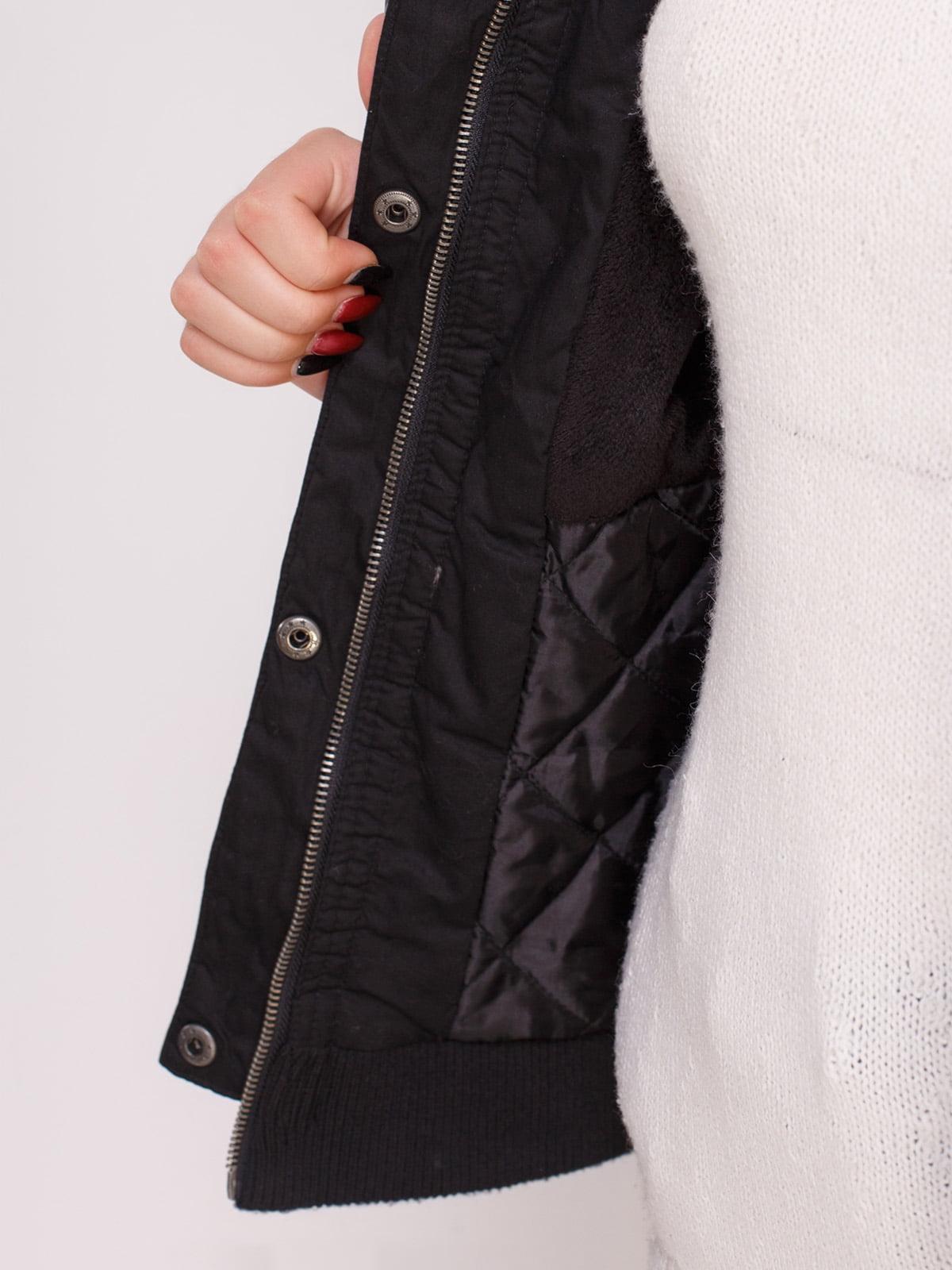 Куртка черная | 4618976 | фото 4