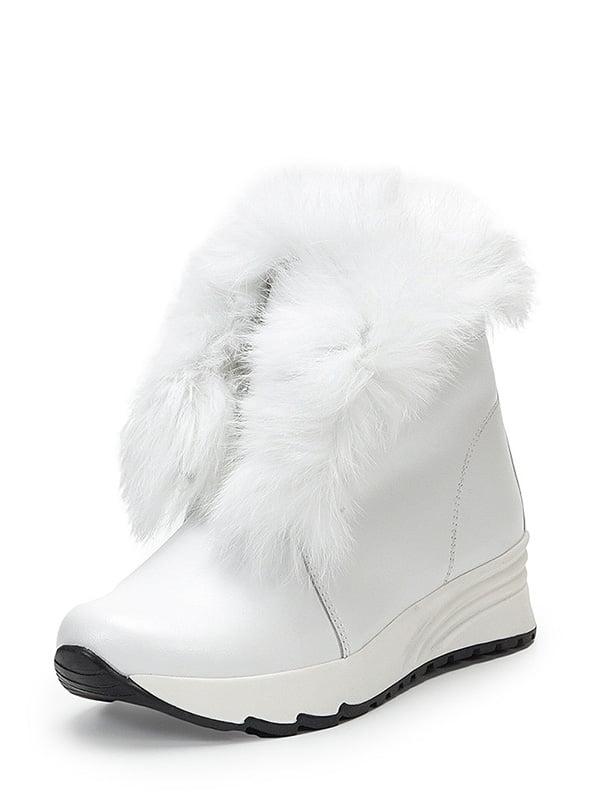 Ботинки белые | 4580473