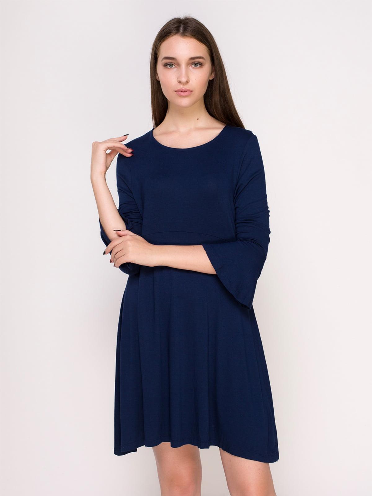 Сукня темно-синя | 4622691