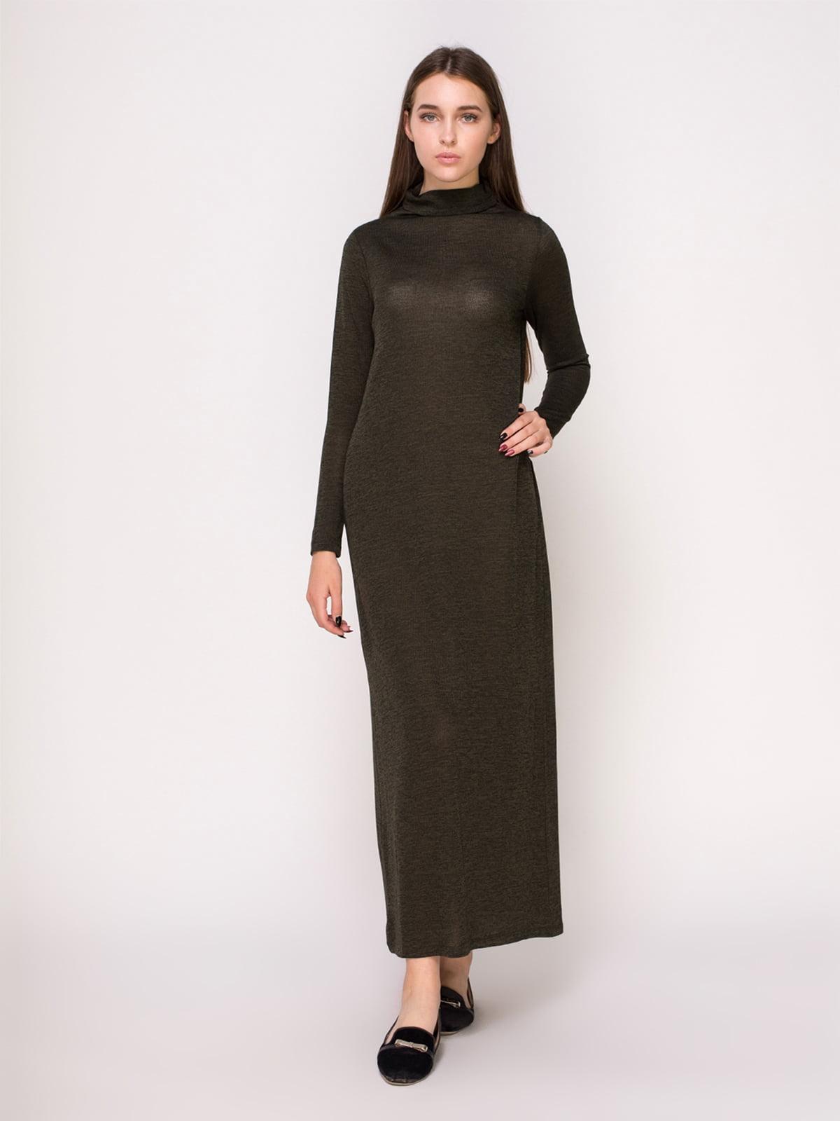Сукня кольору хакі   4622598