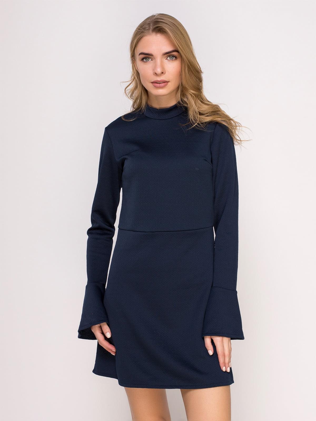 Платье темно-синее | 4623044