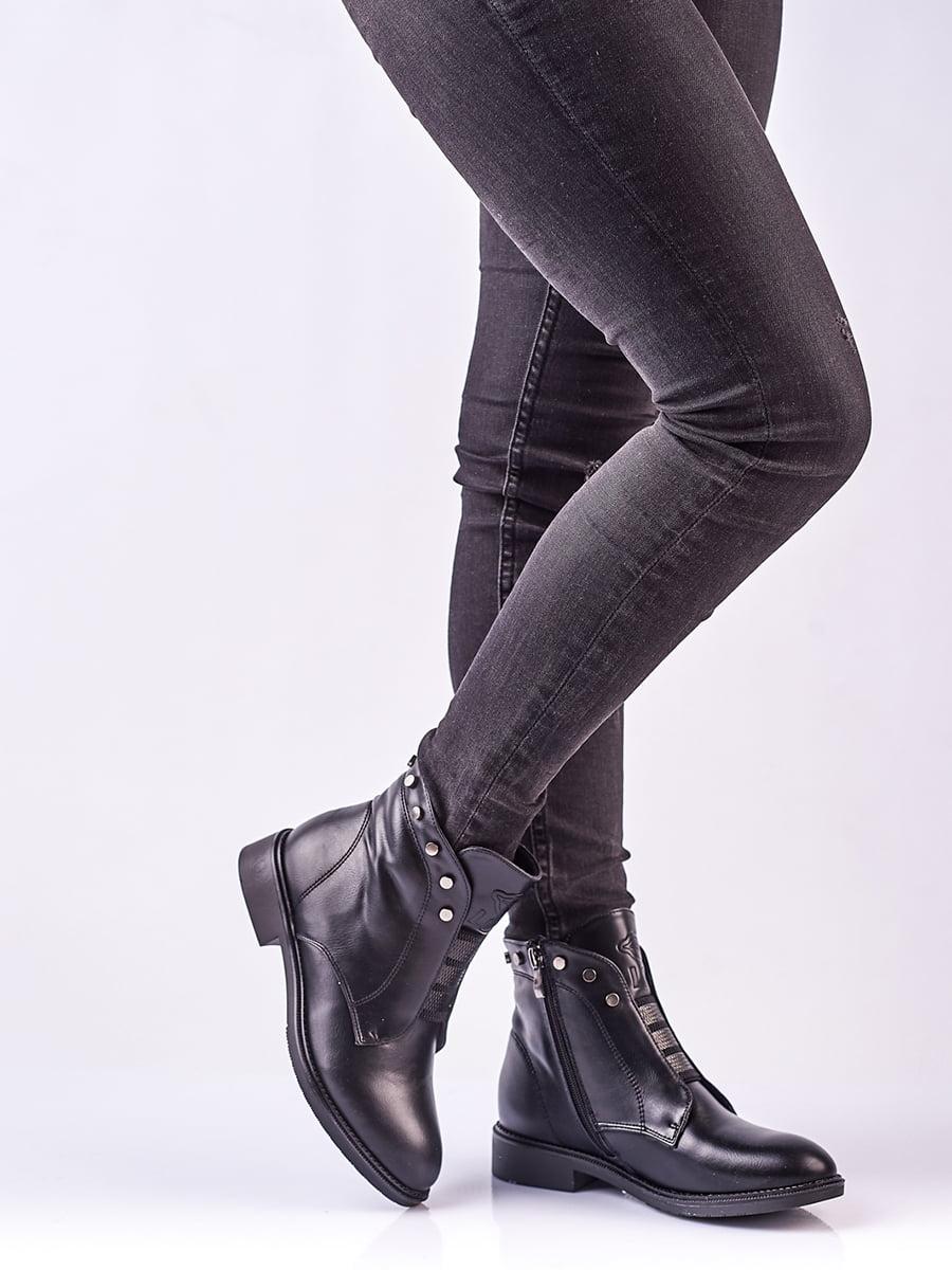 Ботинки черные | 4623409