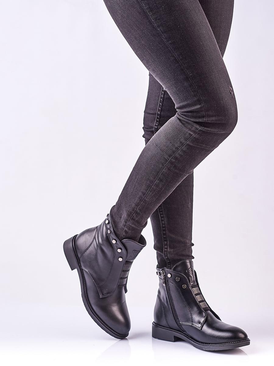 Ботинки черные | 4623409 | фото 2