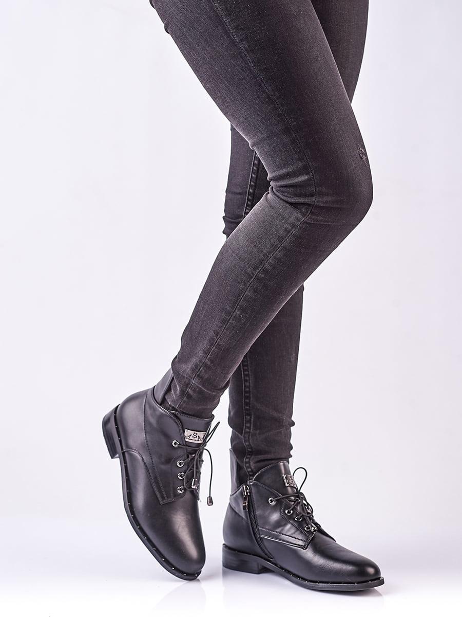 Ботинки черные | 4623413