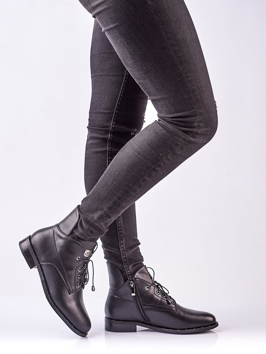 Ботинки черные | 4623413 | фото 2