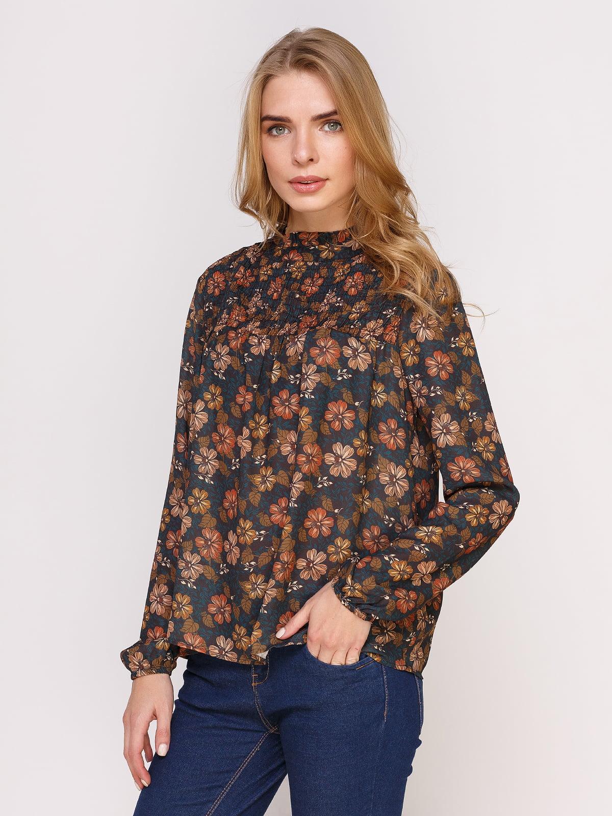 Блуза в квітковий принт   4622545