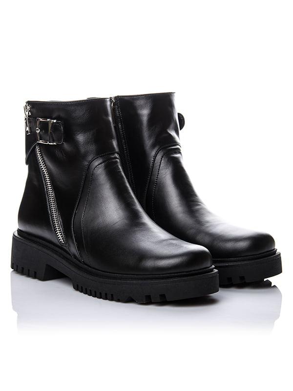 Ботинки черные   4661807