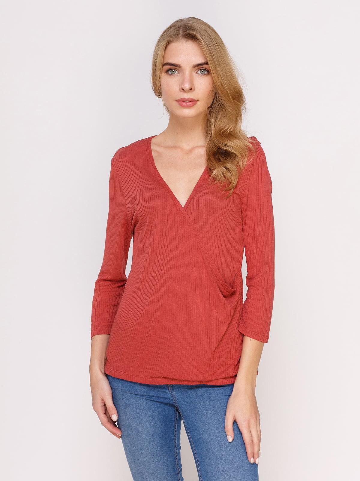 Пуловер червоний | 4621592