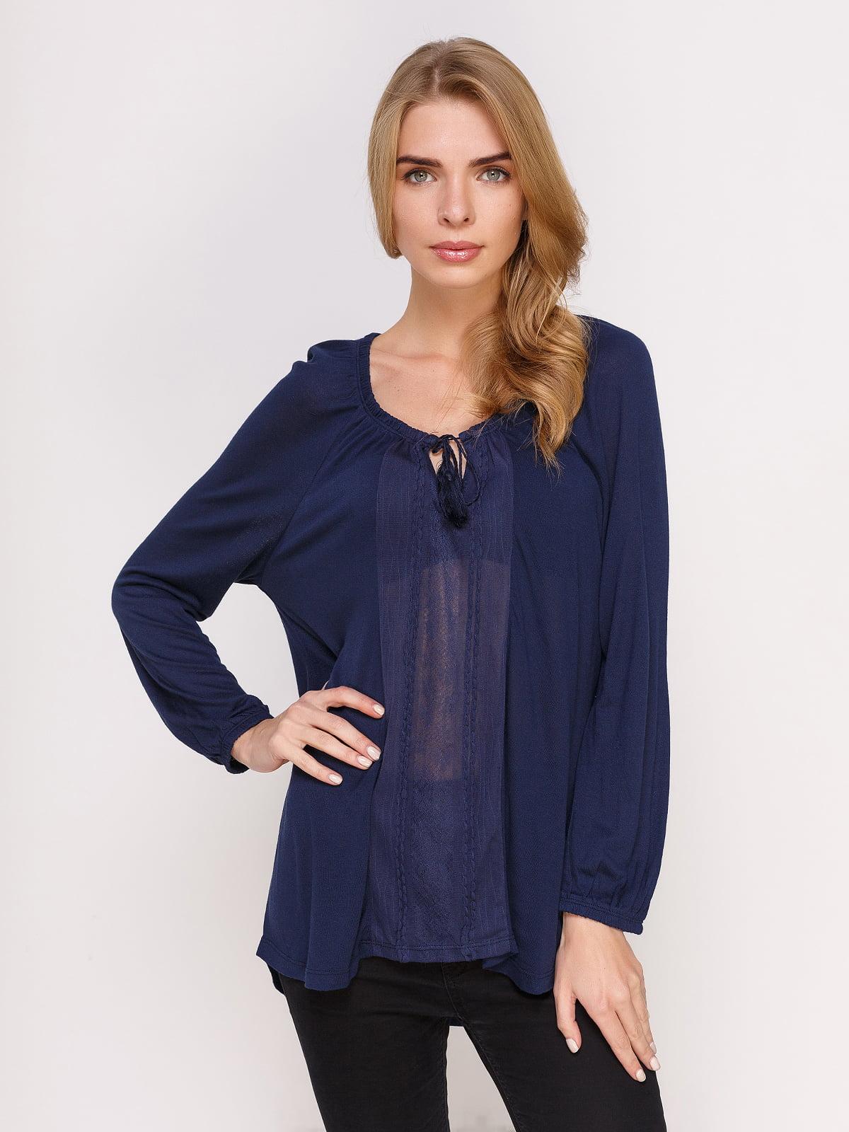 Блуза синя | 4622868