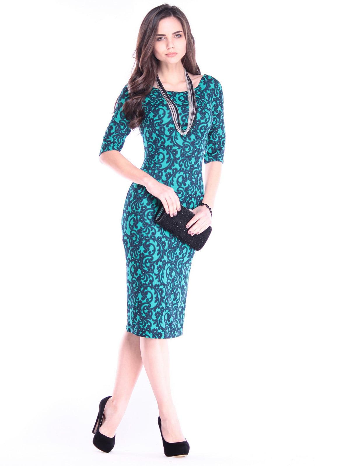 Платье в принт | 2995907