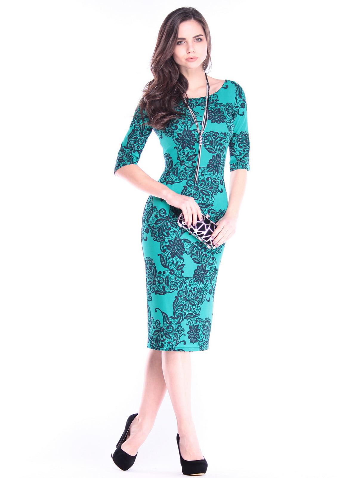 Платье в принт | 2995912