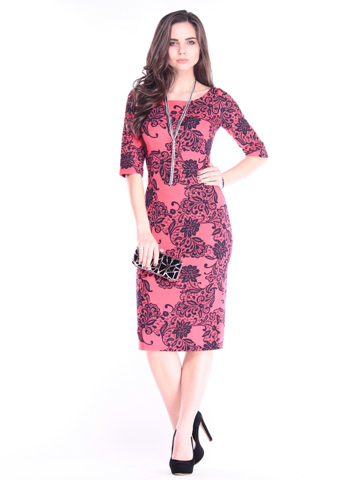 Платье в принт | 2995914