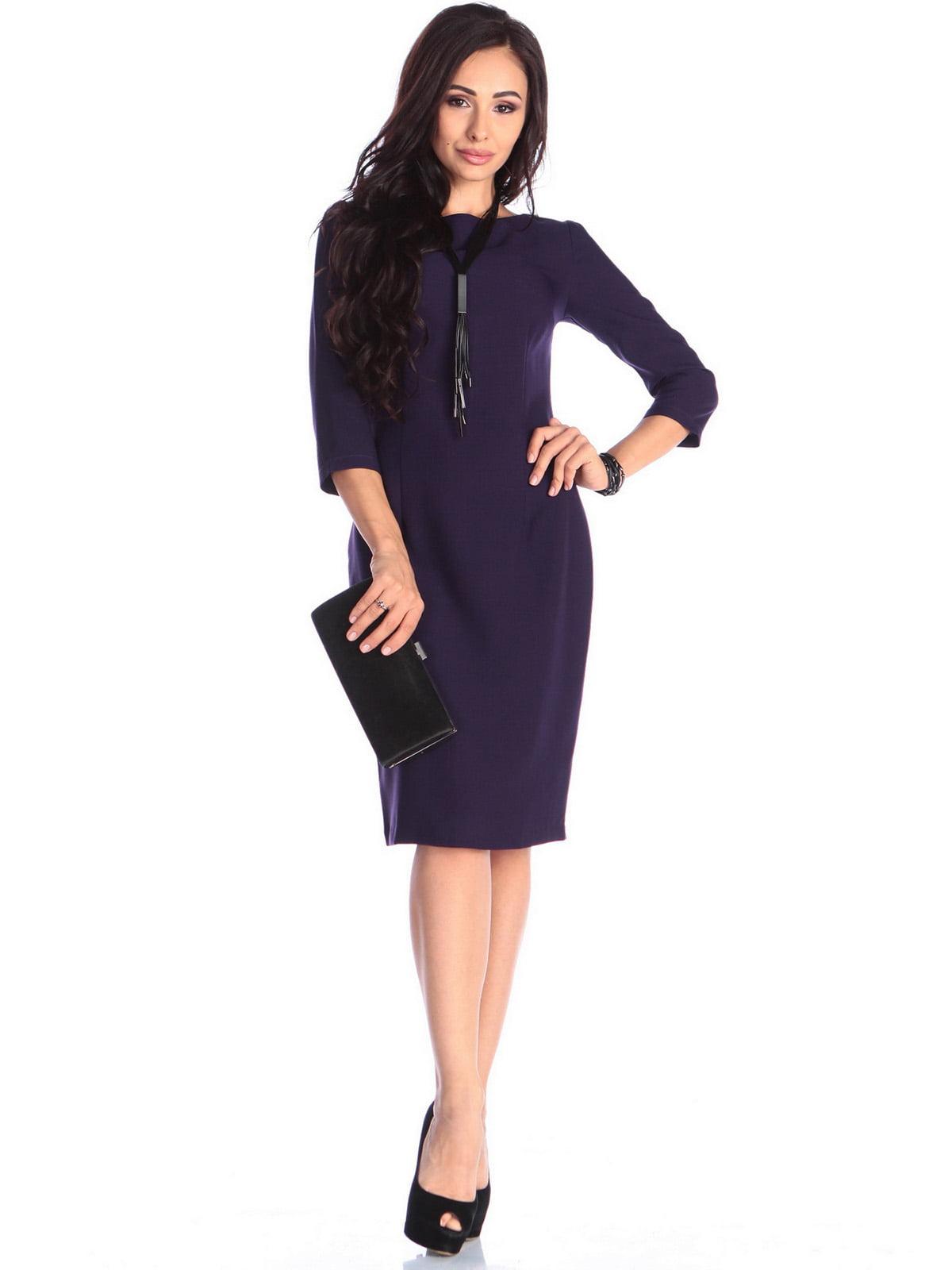 Платье темно-фиолетовое   3679109
