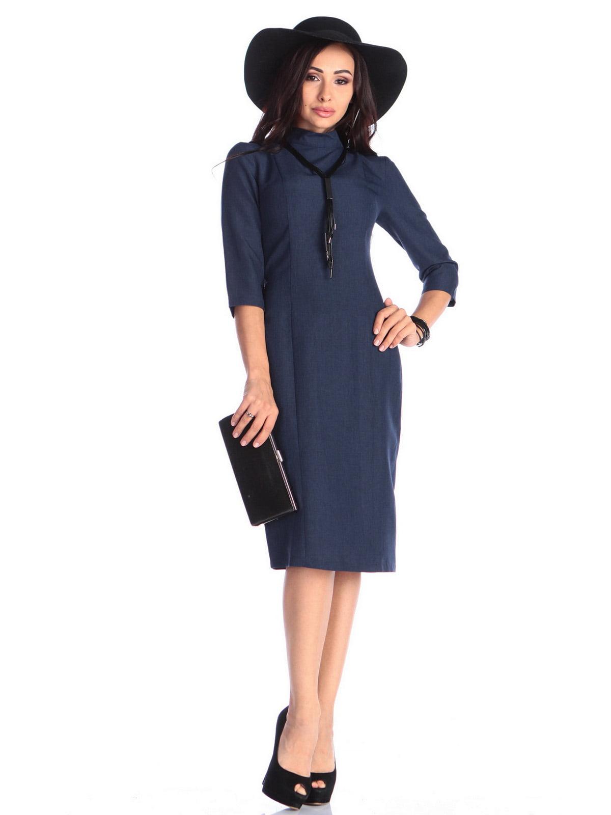 Сукня темно-синя | 3679129