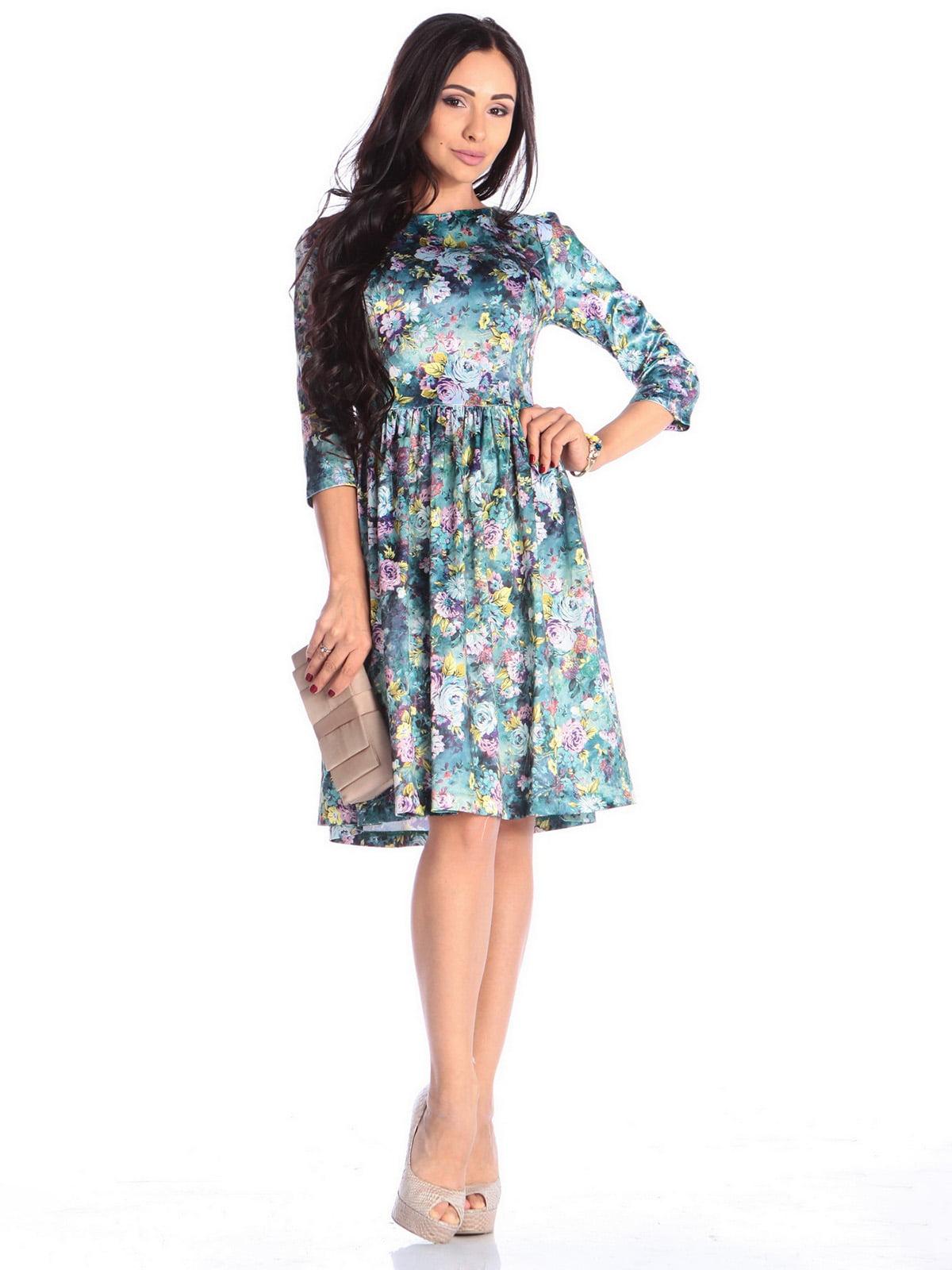 Сукня в квітковий принт | 4636858