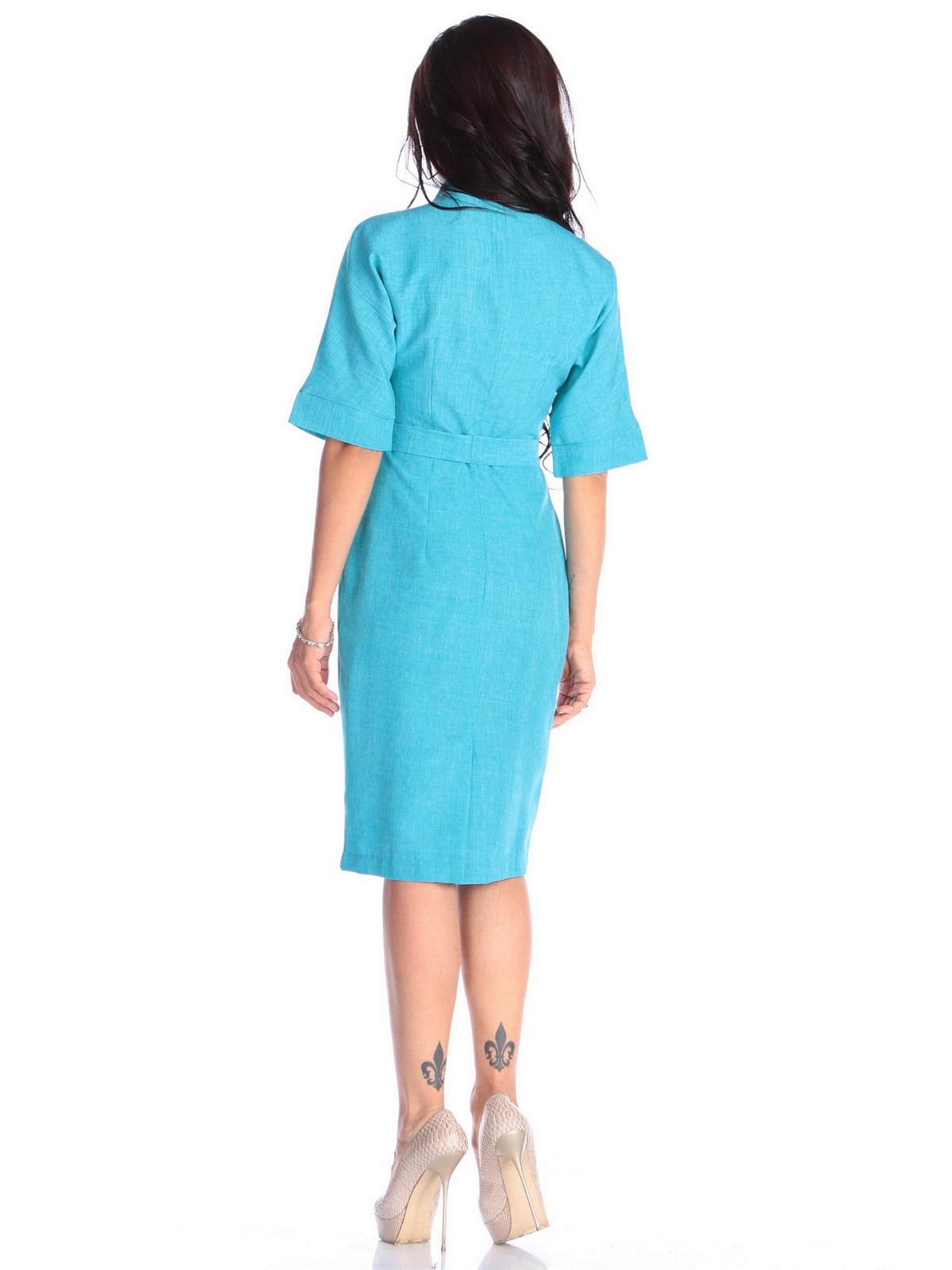 Платье ментолового цвета | 4637006 | фото 2