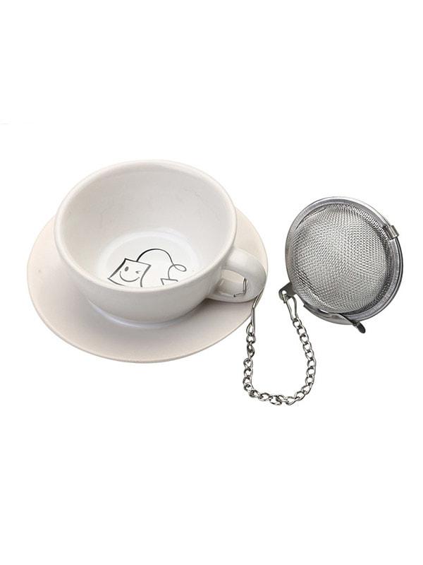 Підставка під чайні пакетики з металевим фільтром (3,5х8х8 см)   4662987