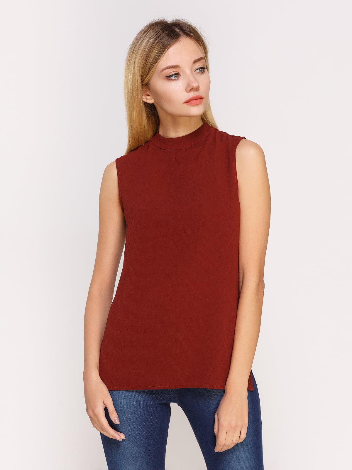 Блуза коричнева | 4622553