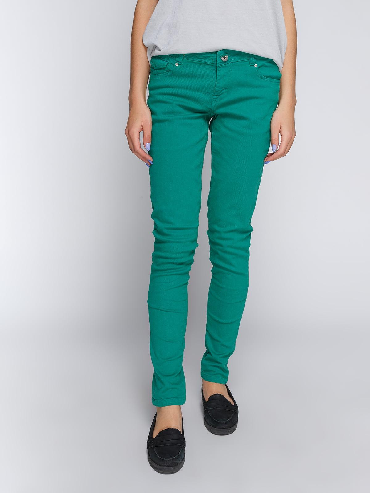 Брюки зеленые | 4635789