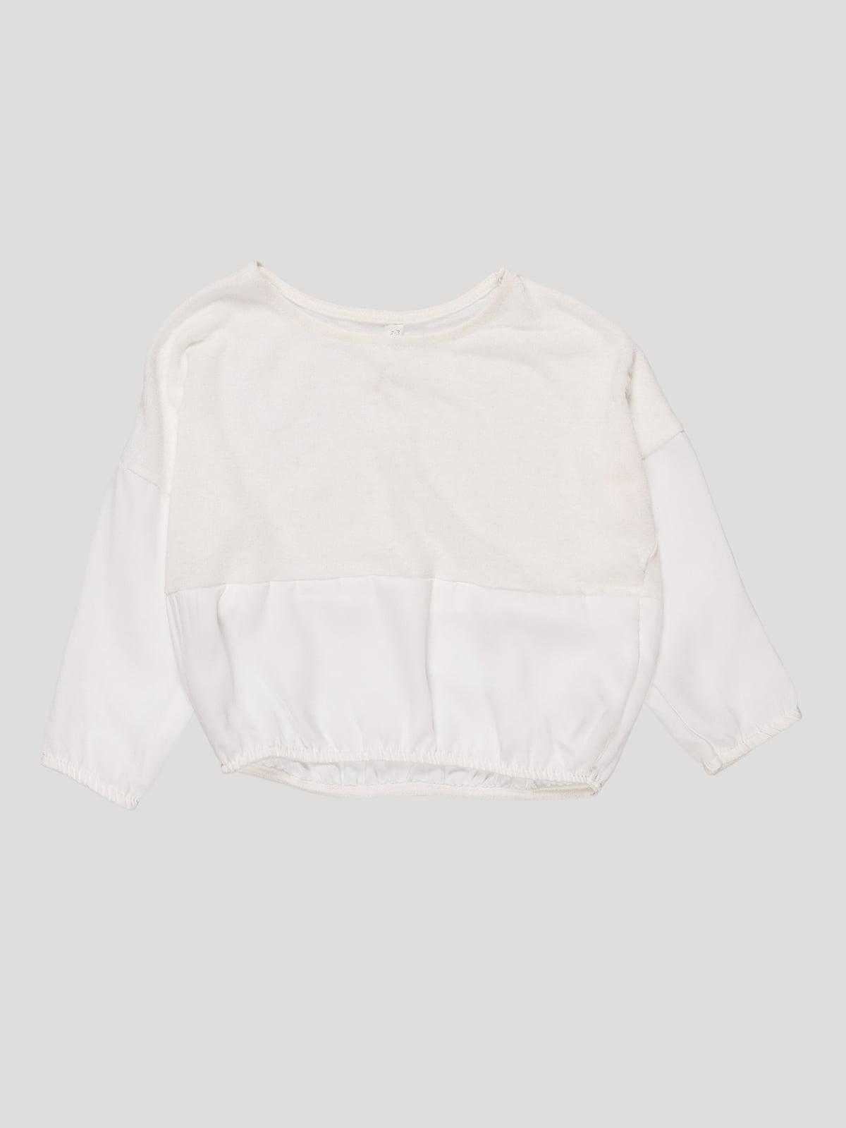 Джемпер білий | 4622110