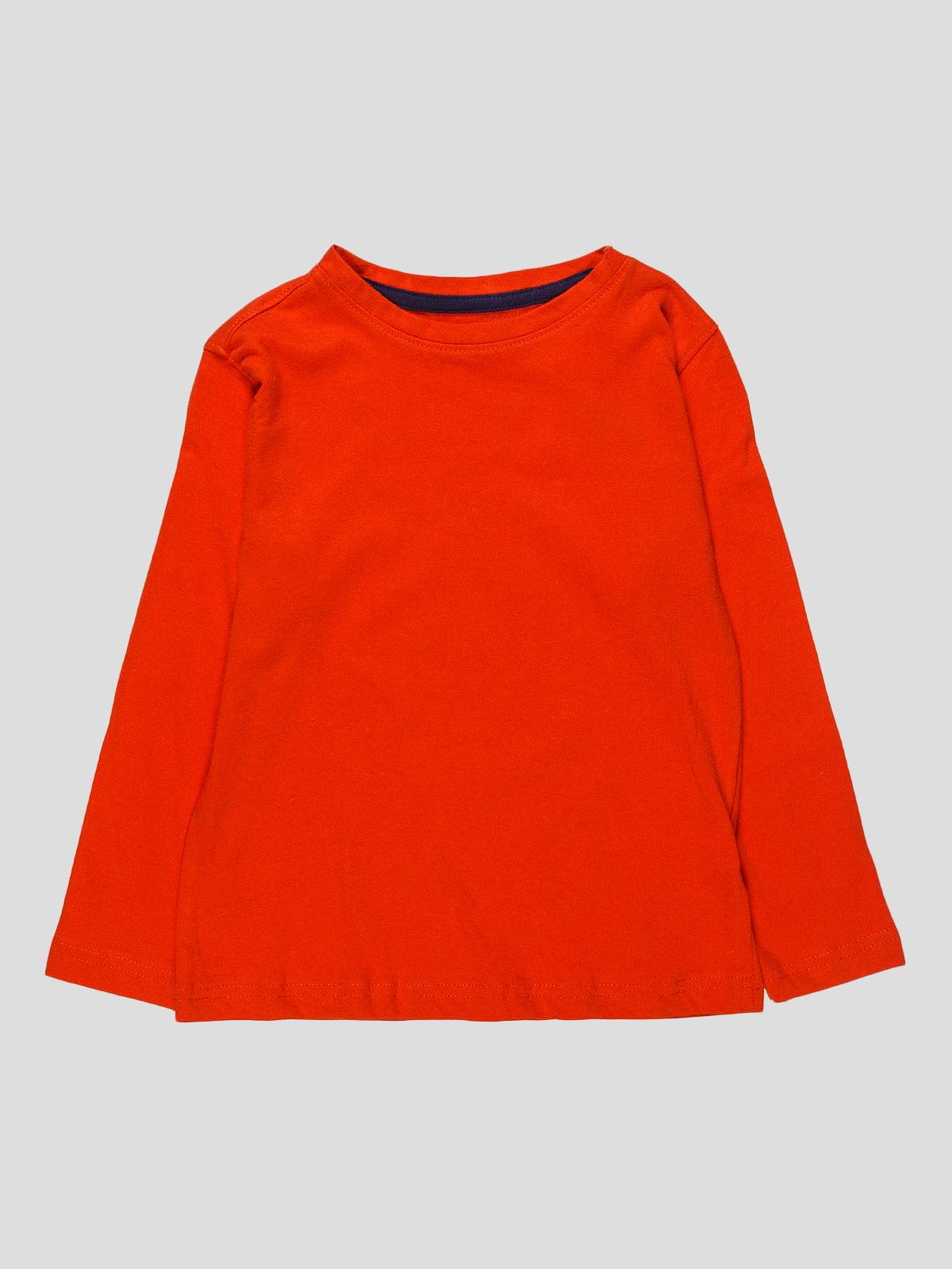 Лонгслів помаранчевий   4621405