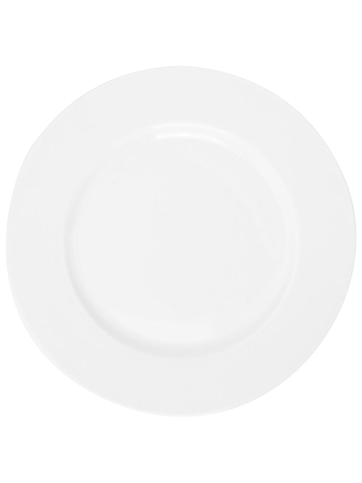 Тарелка мелкая White (26,6 см) | 4665698