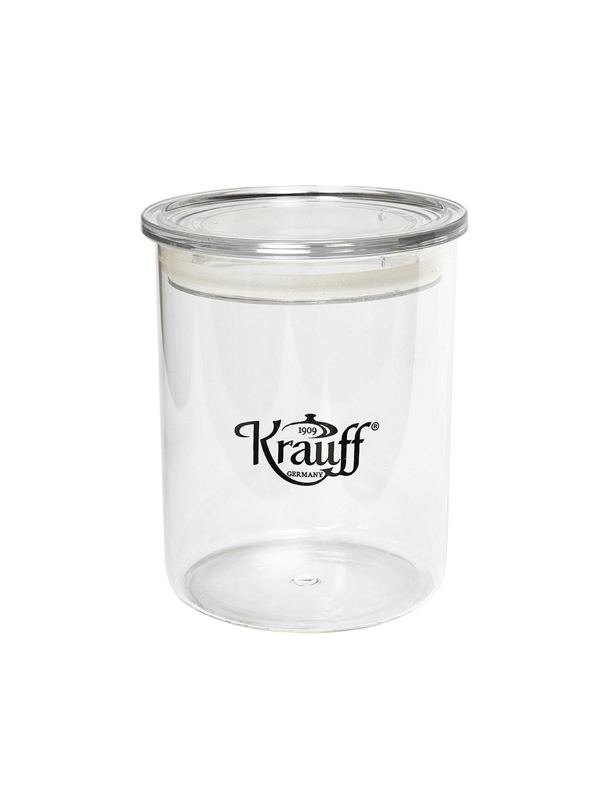 Банка для сипких продуктів скляна (580 мл) з пластиковою кришкою | 4665813