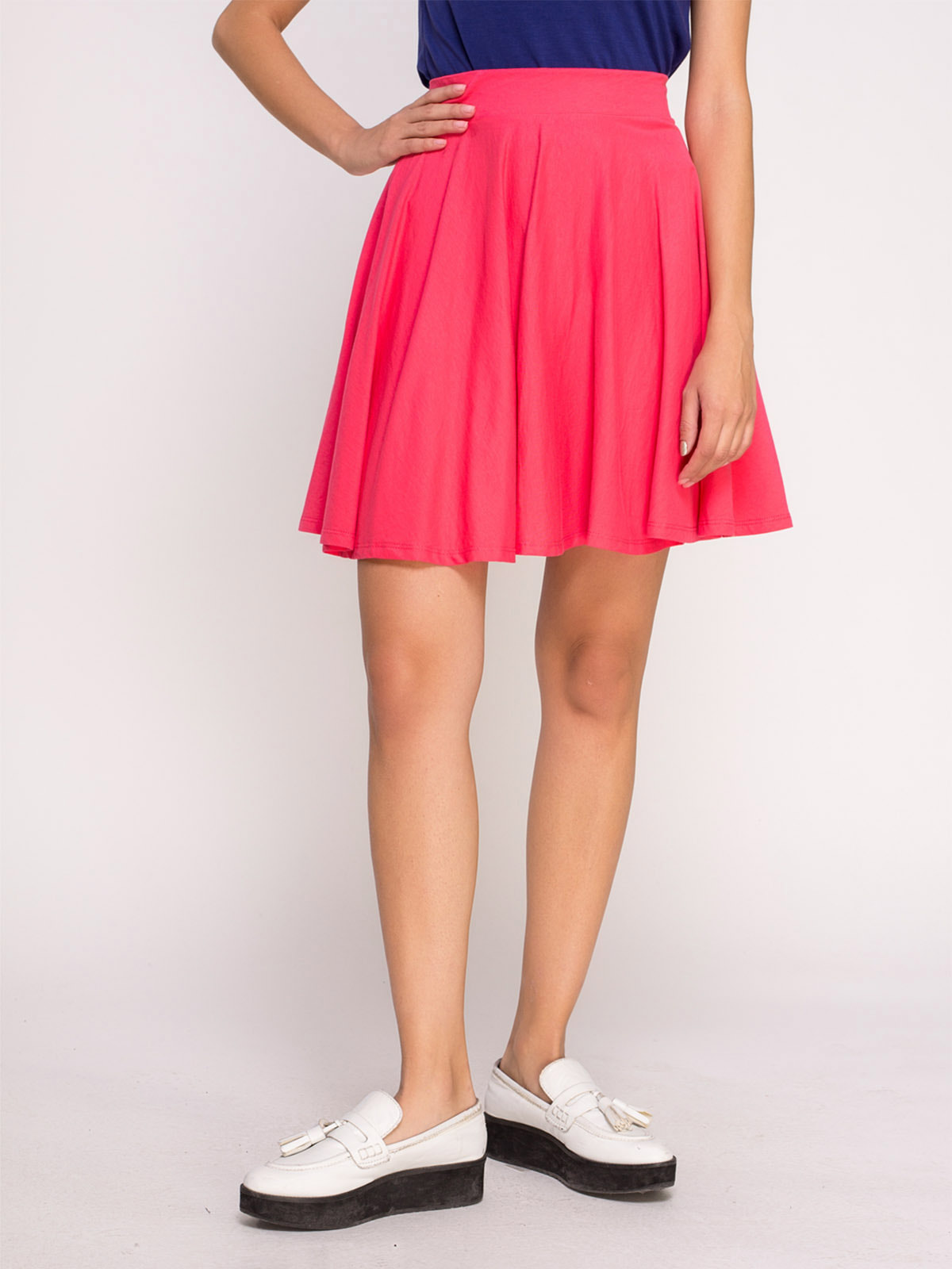 Юбка ярко-розовая | 4631036
