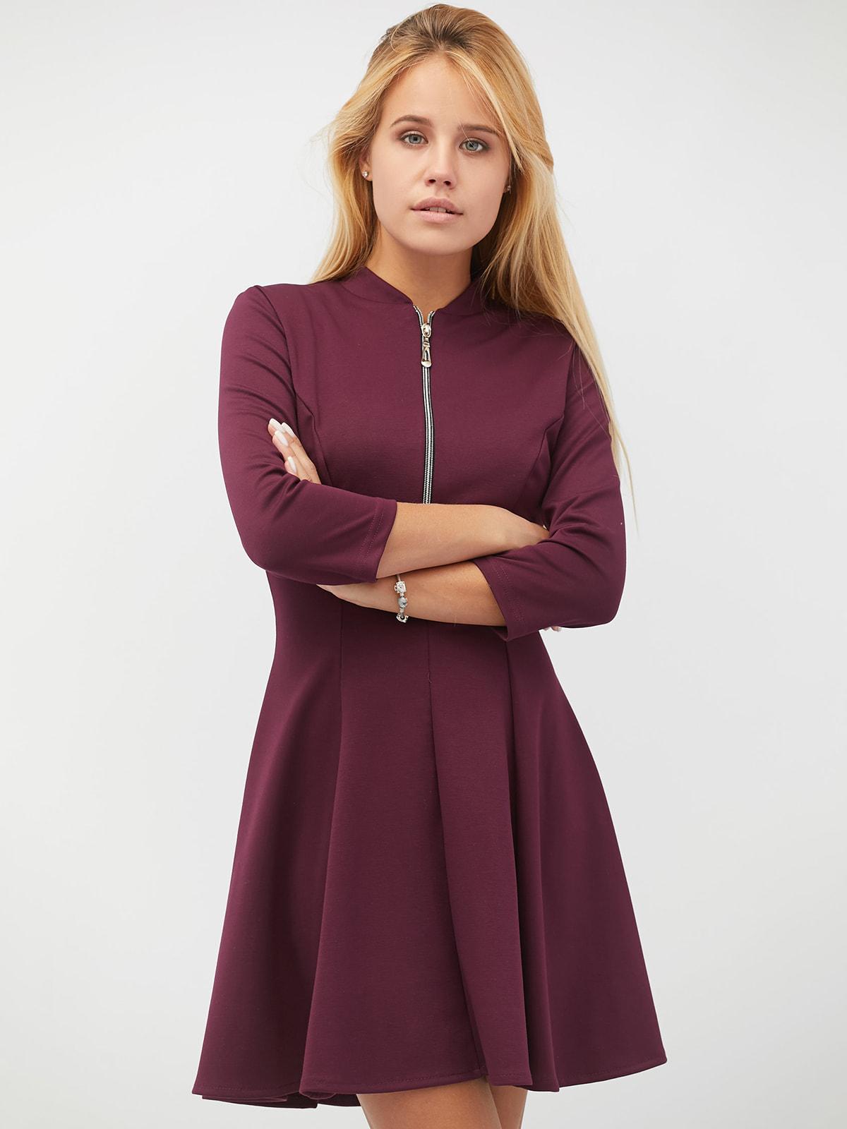 платья черничного цвета фото воланы рюши часто