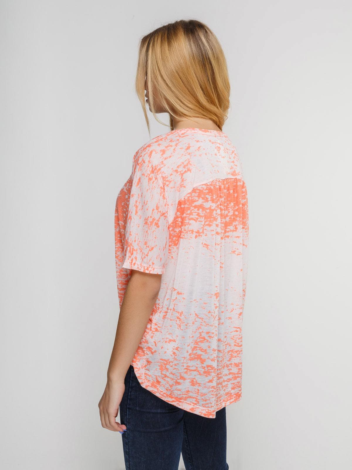 Блуза коралловая | 4623374 | фото 2