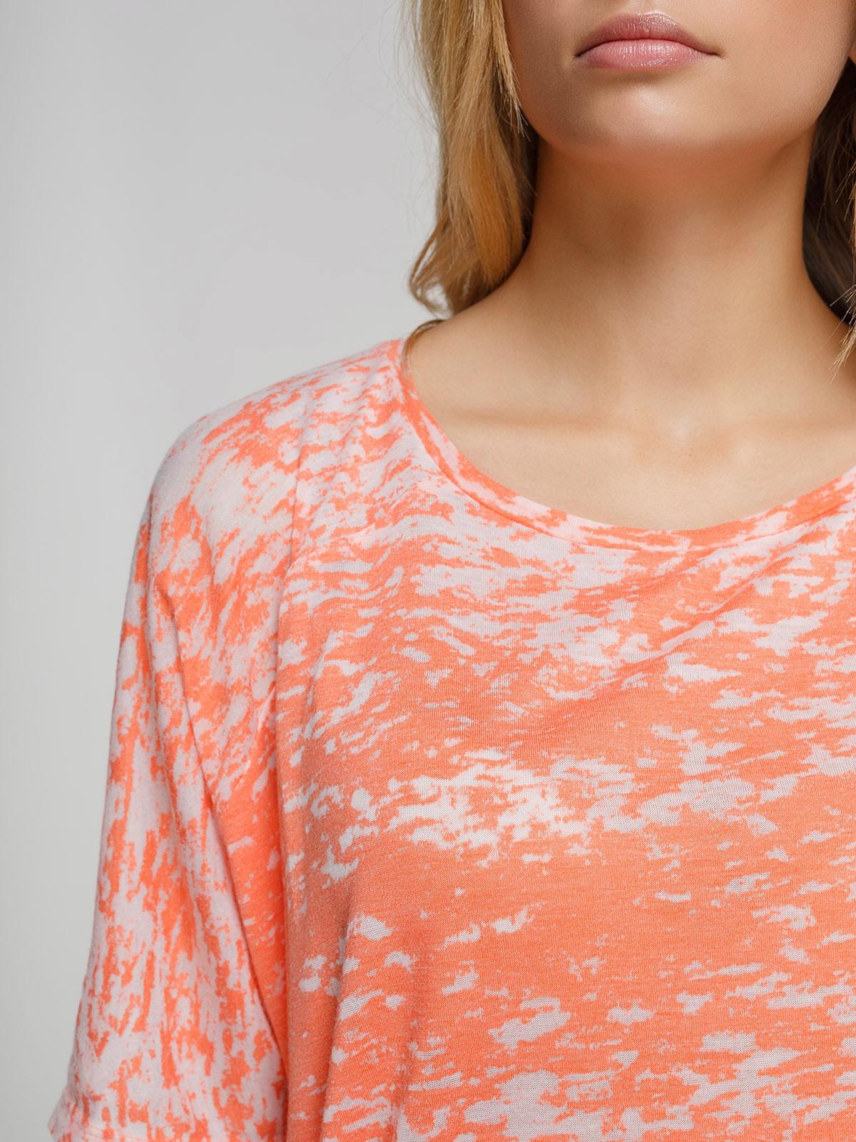 Блуза коралловая | 4623374 | фото 3
