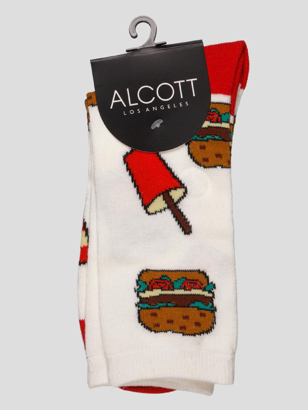 Шкарпетки з малюнком | 4627005