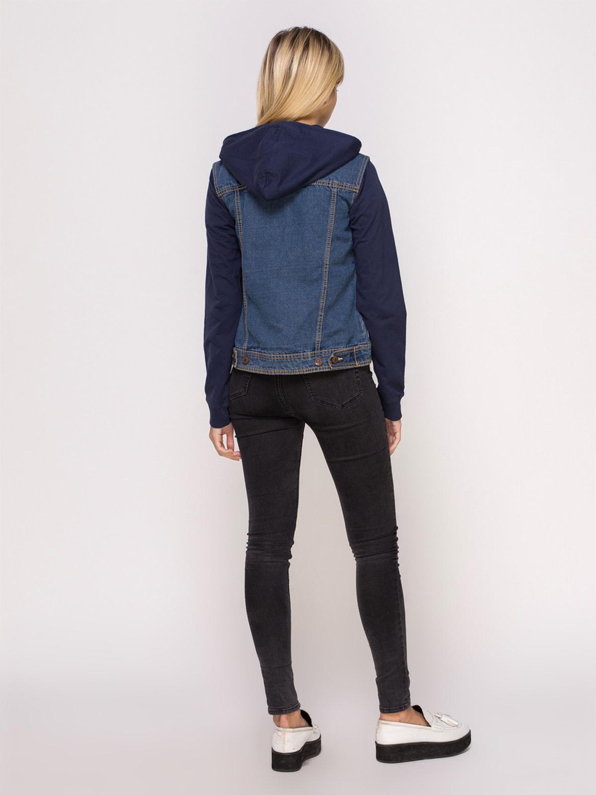 Куртка синя джинсова | 4626980 | фото 3