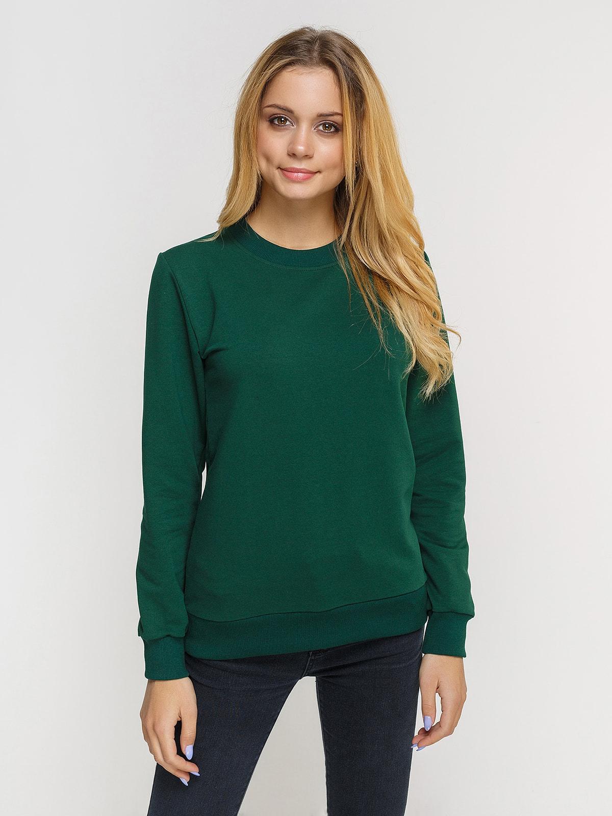 Джемпер темно-зеленый | 4659493