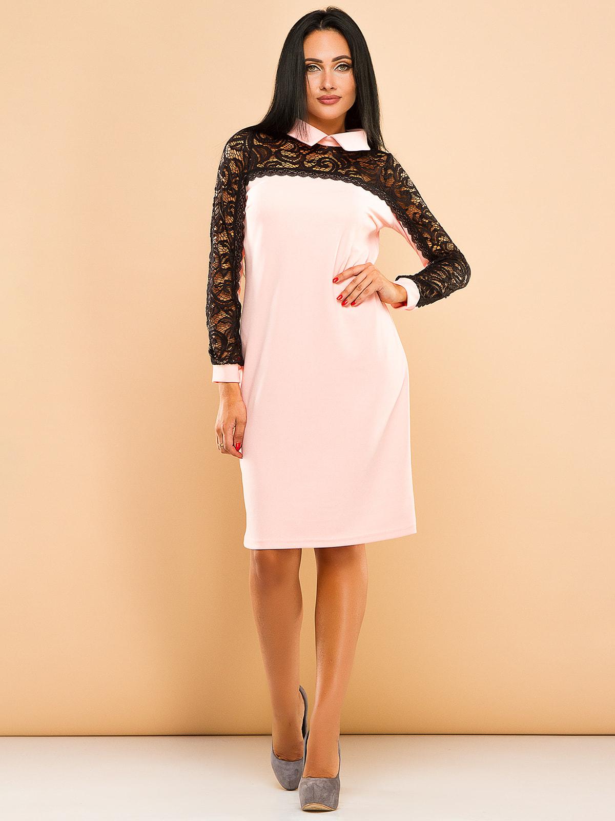 Платье розовое | 4669705