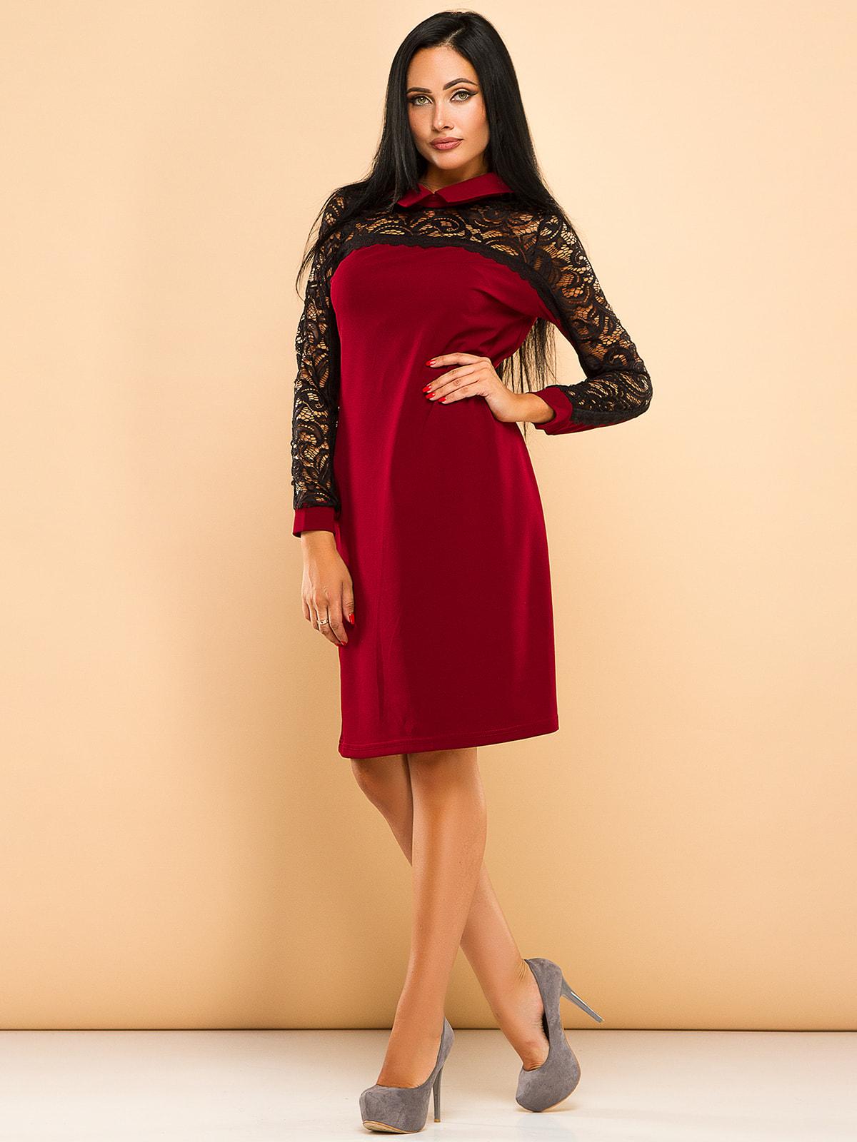 Сукня бордова   4669706