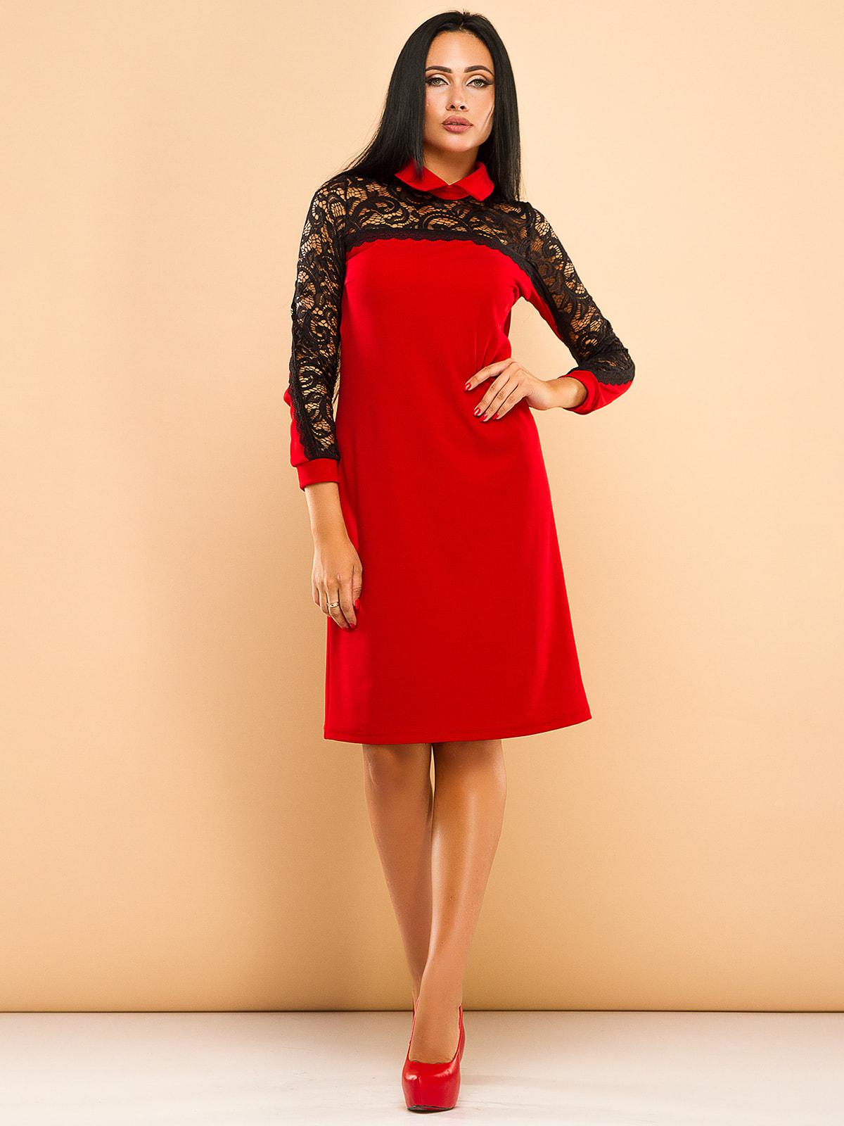 Платье красное | 4669709