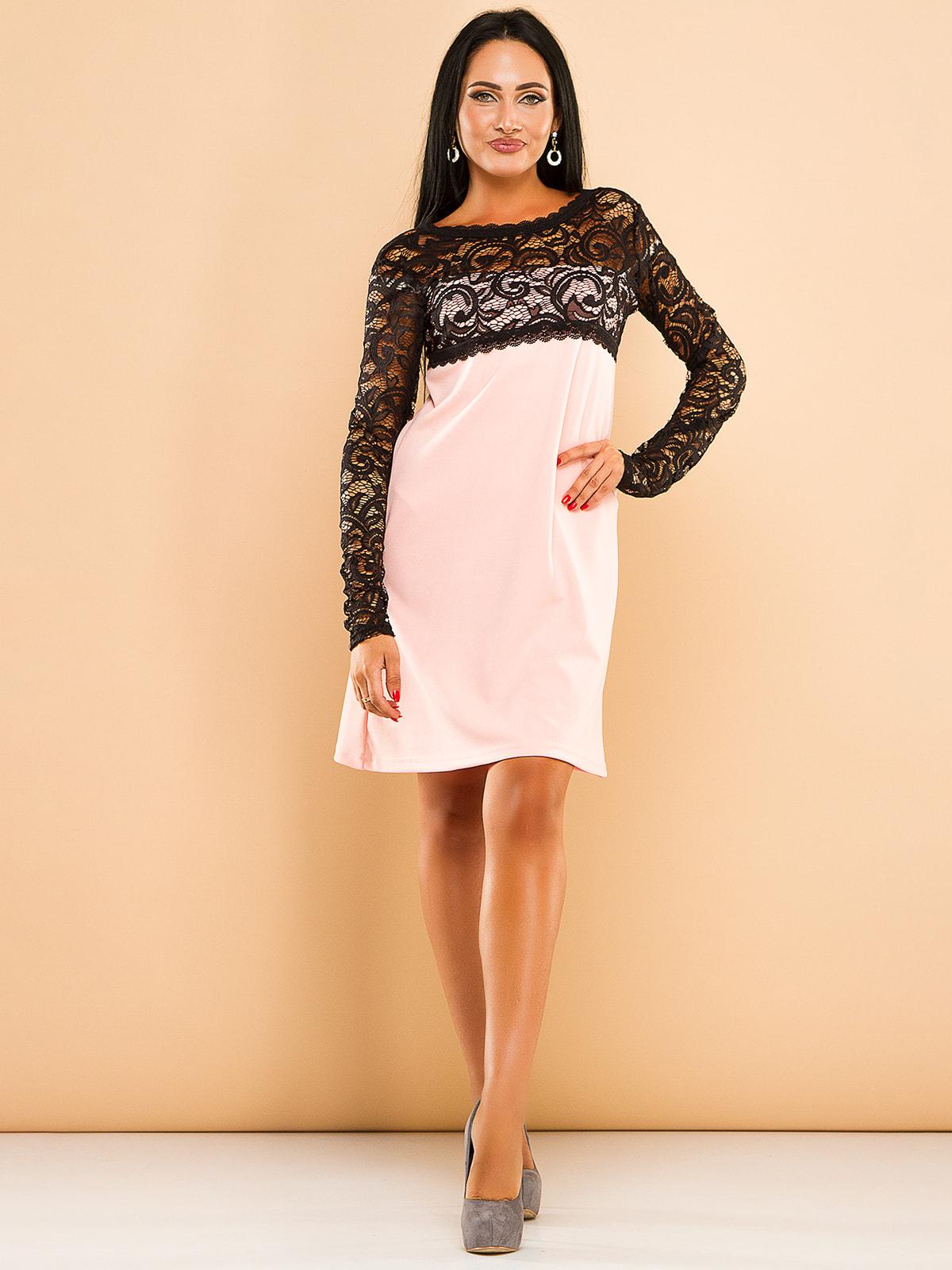 Платье двухцветное | 4669710